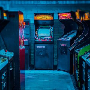 Upright Arcade Machines